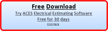 Free Trial for ACES Pro Electrical Estimating Software System